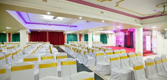AC marriage halls in chennai
